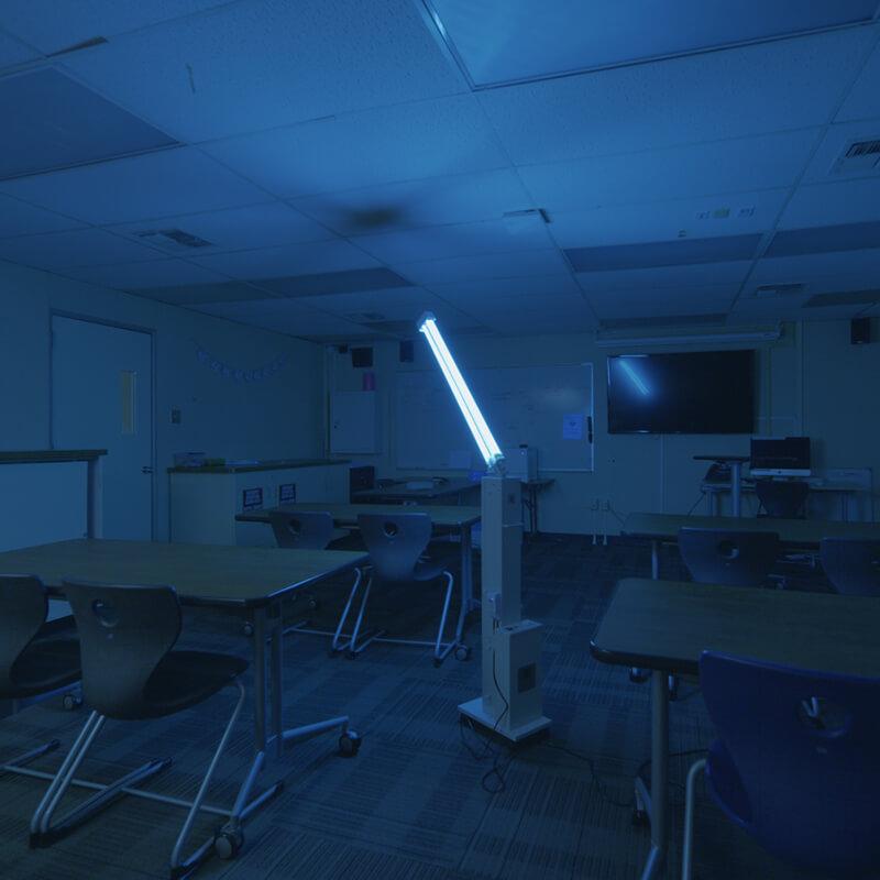 uv disinfectant lighting solutions fsg
