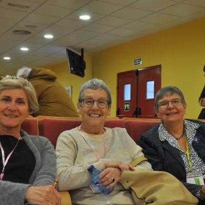 Ángela, María y Alexandra
