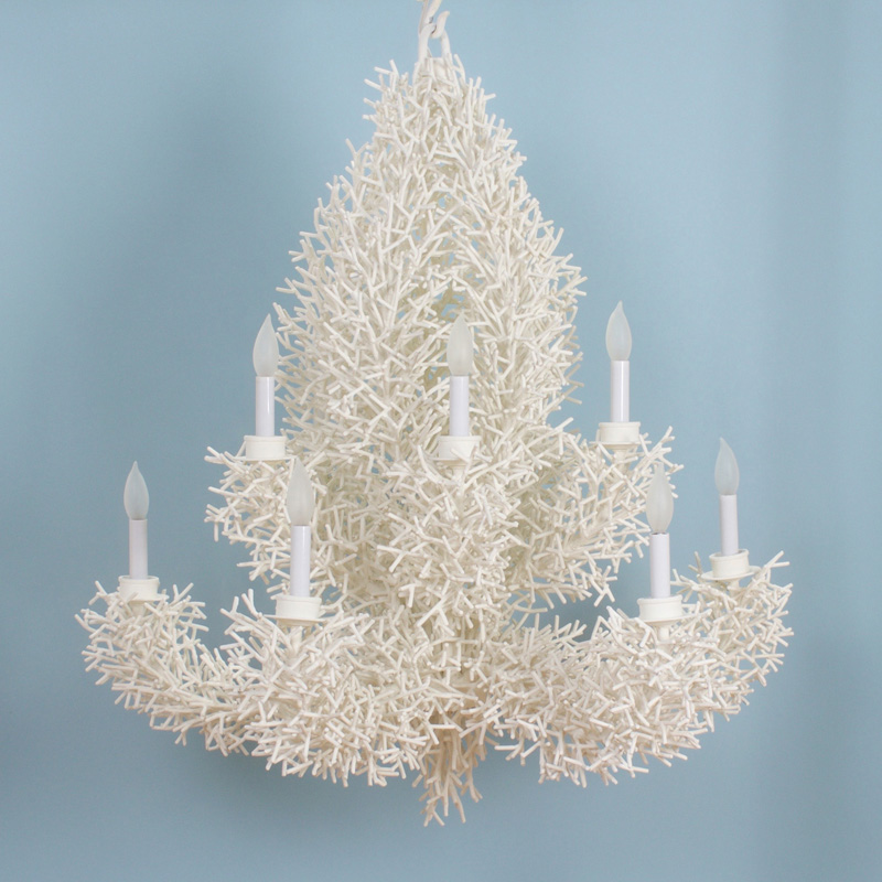 Faux Coral Wall Sconces