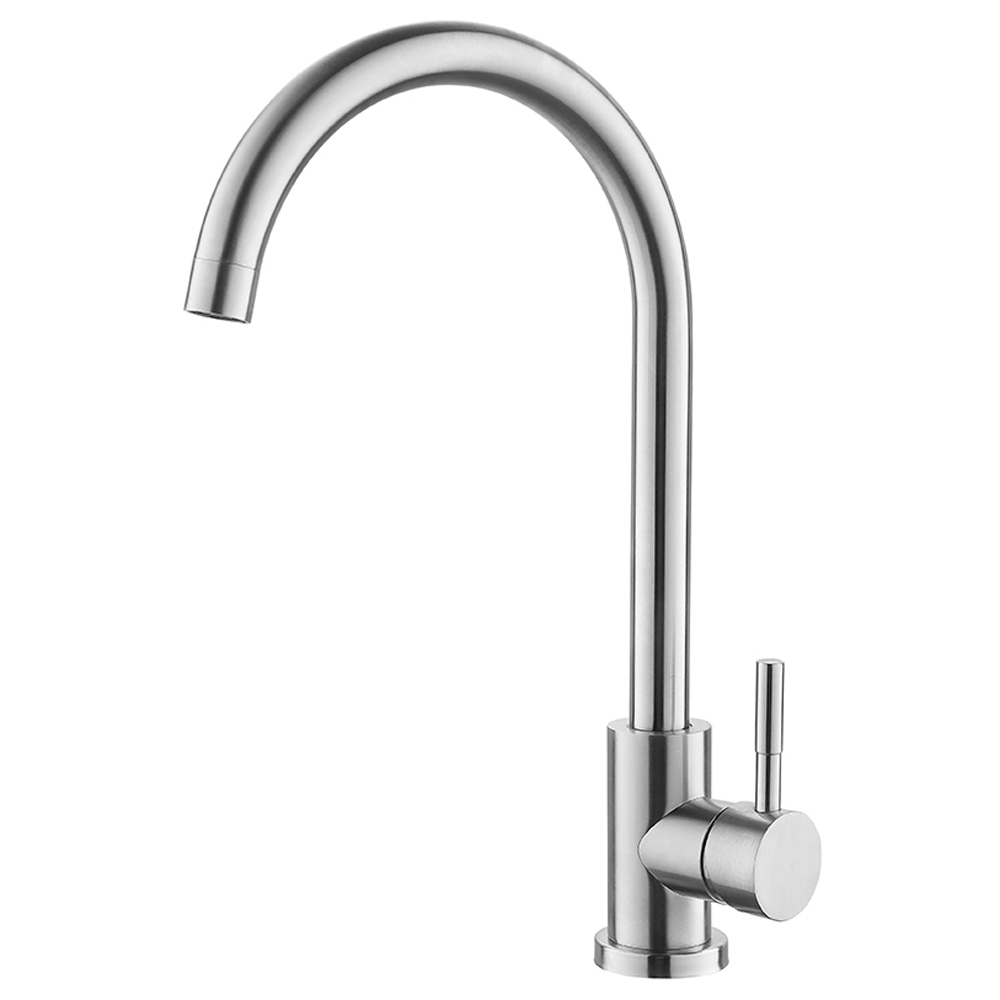 kitchen faucet commercial brushed