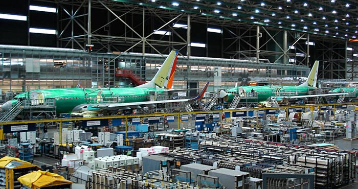 FSi consulting engineers Boeing Renton 737 Moving