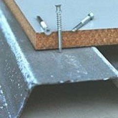 Corrugated Steel Chair Rail Cotton Duck Covers Decking B Deck