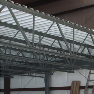 corrugated steel chair rail hanging world market decking b deck