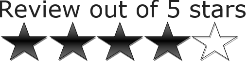 5 star review graphic--The Ghost Writer