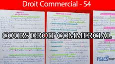 Droit commercial cours résumé