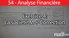 Exercice analyse financière