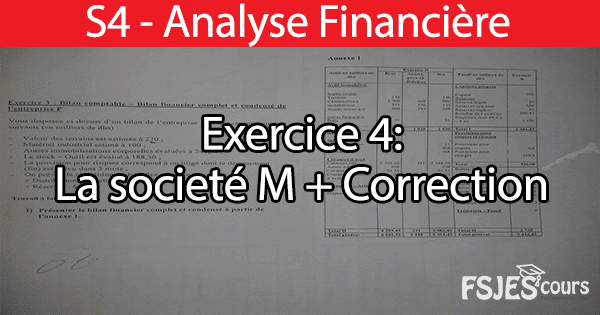 Exercice analyse financière
