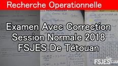 Recherche Operationnelle