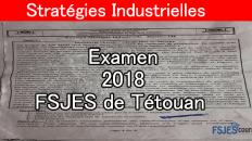 Stratégie industrielle examen