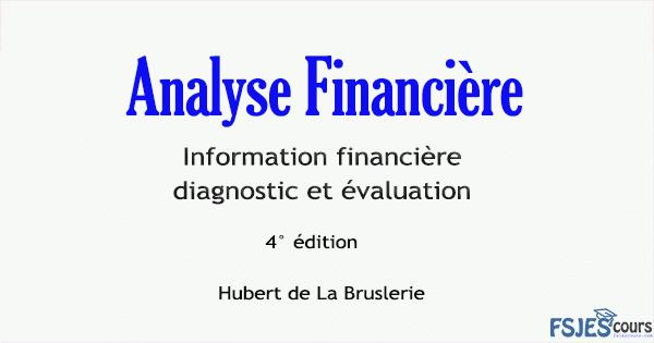 analyse financière livre
