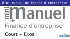Mini manuel de finance d'entreprise pdf