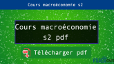 Cours macroéconomie s2 pdf