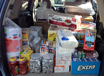 Lots of supplies are needed to Feed the 1st.  Can you help?
