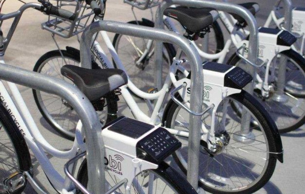 Bicycle Vending on Esplanade Could Get Love in Triangles if Machines Scaled Down