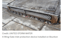 AUTOMATIC RETRACTABLE SCREEN STORMWATER INLET PROTECTION DEVICES