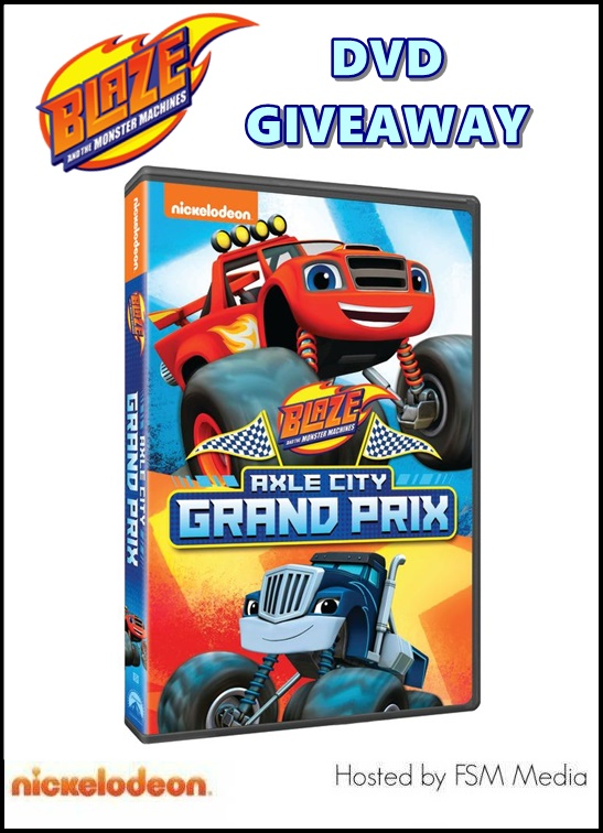 Blaze And The Monster Machines Deep Sea Grand Prix : blaze, monster, machines, grand, Giveaway:, Blaze, Monster, Machines:, Grand