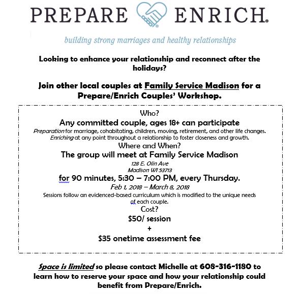 Prepare & Enrich Group Flyer