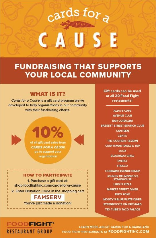 Cards for a Cause Campaign