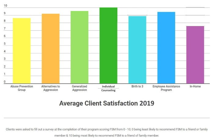 2019 Client Satisfaction - Small