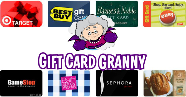 Save 50 On Gift Cards W Gift Card Granny You Saved How Much