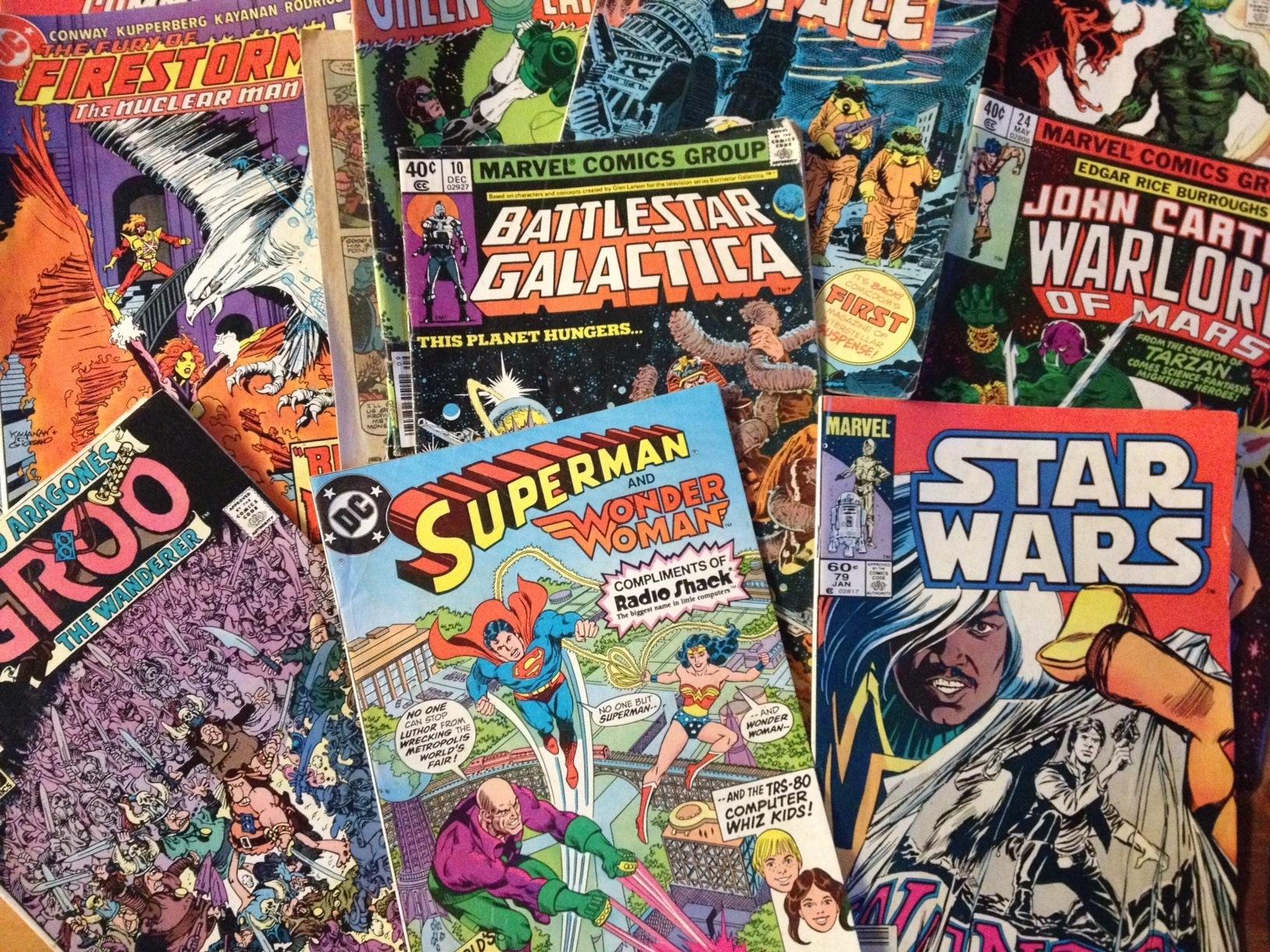 Pile Of Comic Books Wwwpixsharkcom Images Galleries