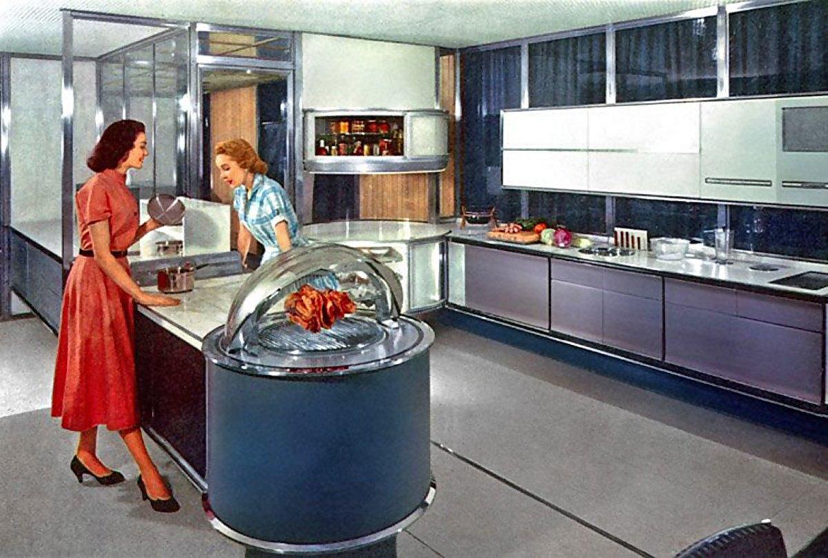 1950s Kitchen Decor