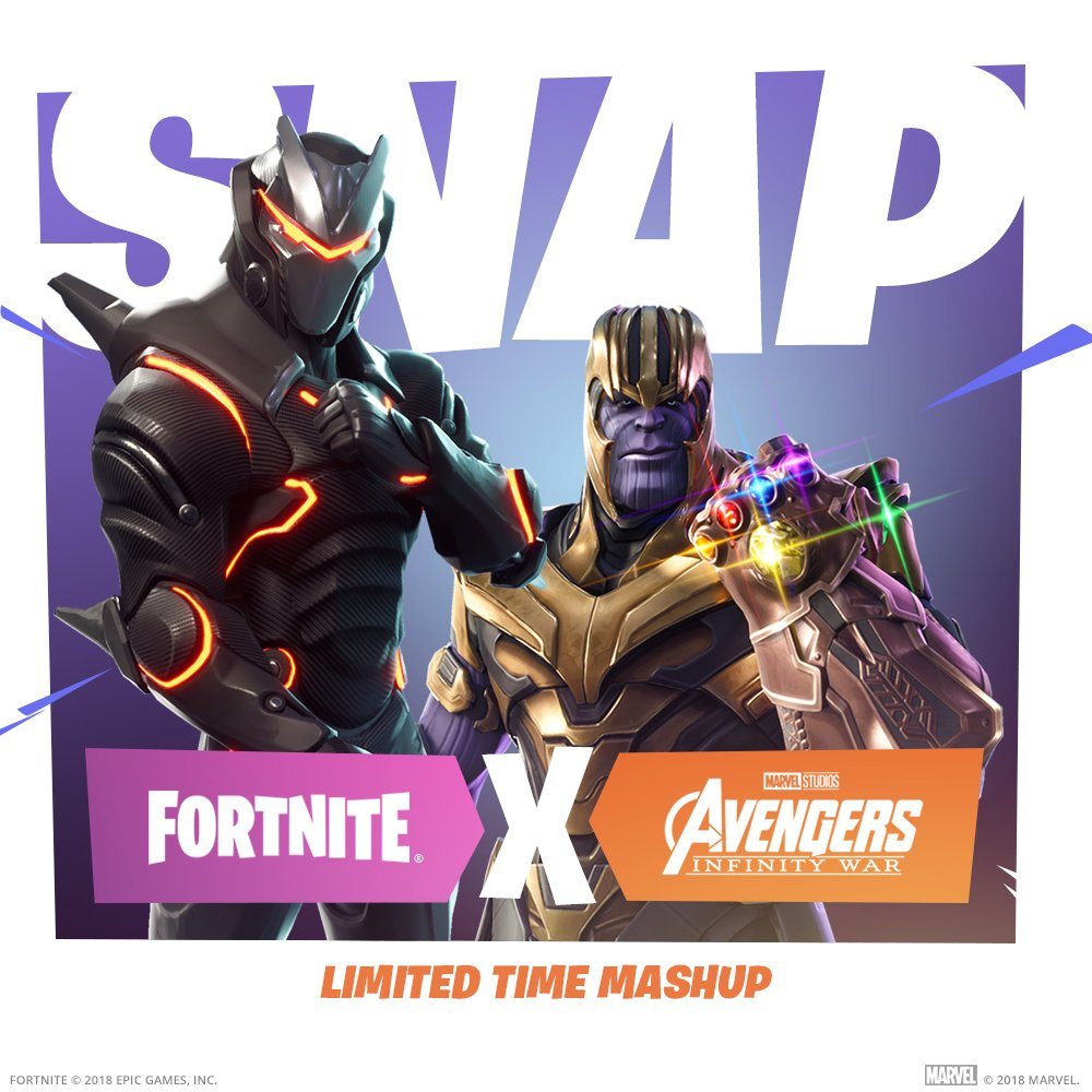 Fortnite Infinity Gauntlet Why Thanos And Marvel Skins