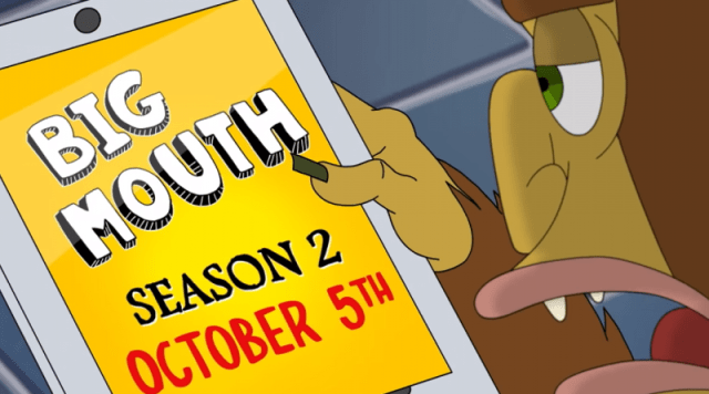 Big Mouth Season 2 Out Today