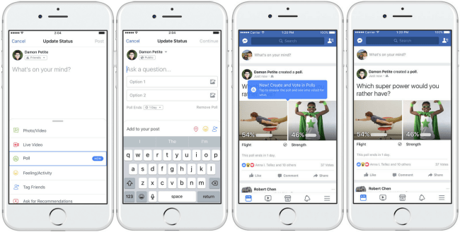 Are Facebook's New Polls Anonymous? The Feature Rolled Out Today And No. They're Not   Inverse