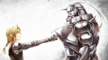 Fullmetal Alchemist Brotherhood Cover Art