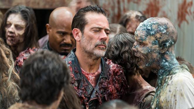 Negan's story is just about over on'The Walking Dead'.