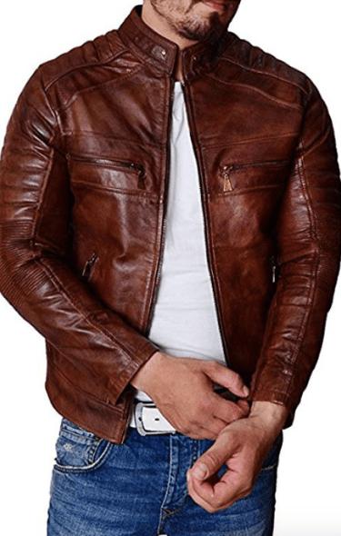 fairylinks leather jacket men