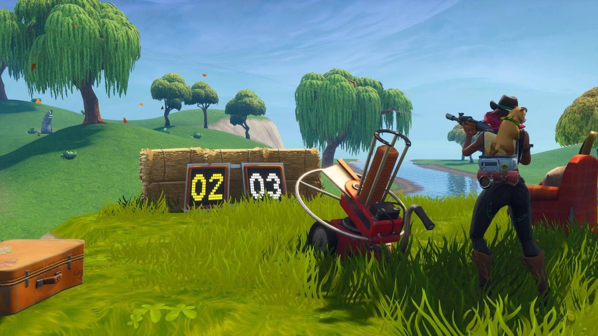Fortnite Clay Pigeon Shooter Locations Map And Video