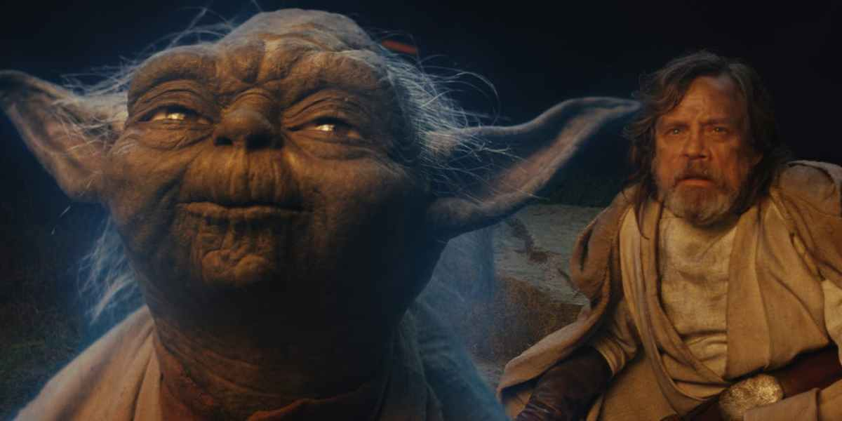 Yoda Luke The Last Jedi