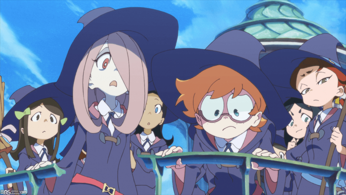 Cute Little Girl Cartoon Wallpaper Netflix S Little Witch Academia Anime Is An All Girls