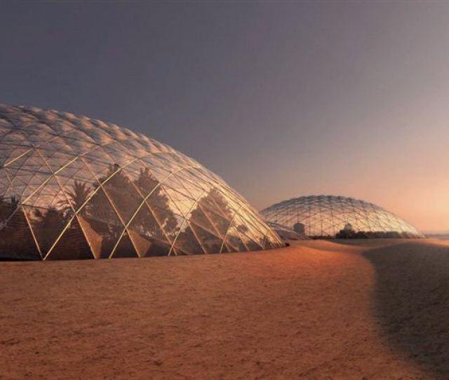 Dubais Mars City Plan Looks Stunning