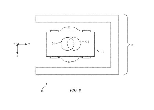 apple car project titan wireless charger diagram  [ 1300 x 929 Pixel ]