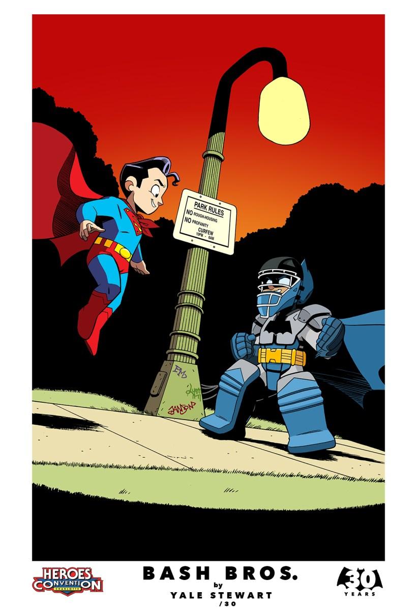 baby batman and superman