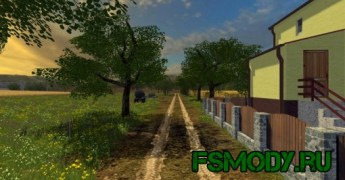Карта «Долина Kujawska» для Farming Simulator 2015