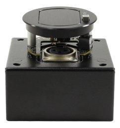 t3 mj 1bm blk mic mount 1 button w mute [ 1000 x 1000 Pixel ]