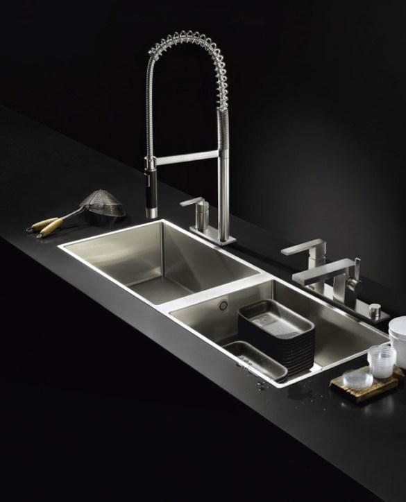 Bachas o piletas novedades en materialesmontaje y formaCOCINAS MODERNAS Parte 1  FSstudiodesign