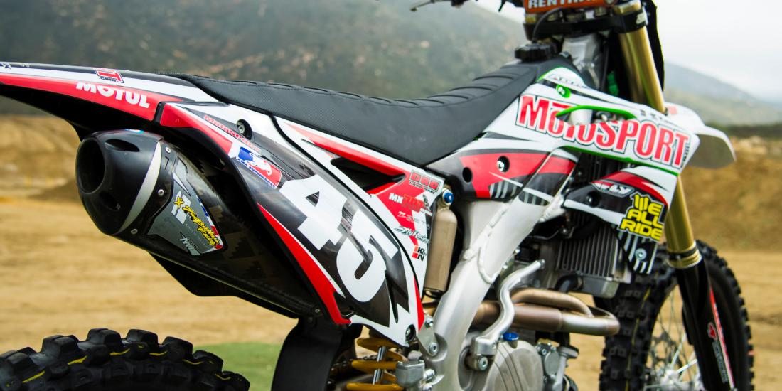 4 stroke exhaust for your dirt bike