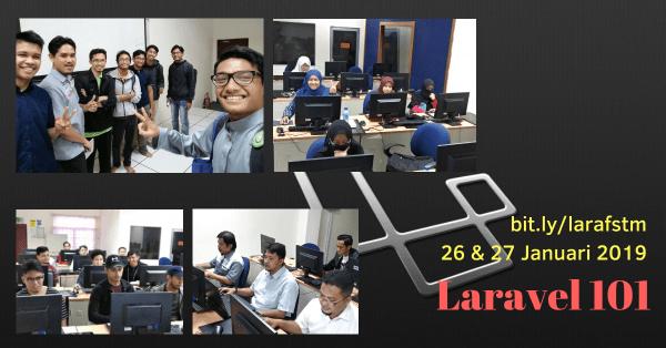 Kursus Laravel Januari 2019