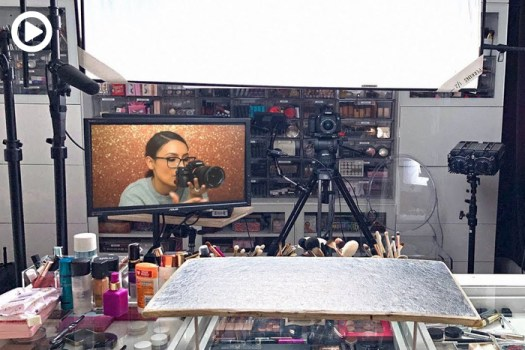 Beauty YouTuber Uses Over $10,000 Worth of Equipment to Shoot Makeup Videos