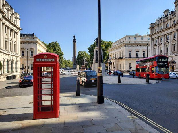 Street view of London