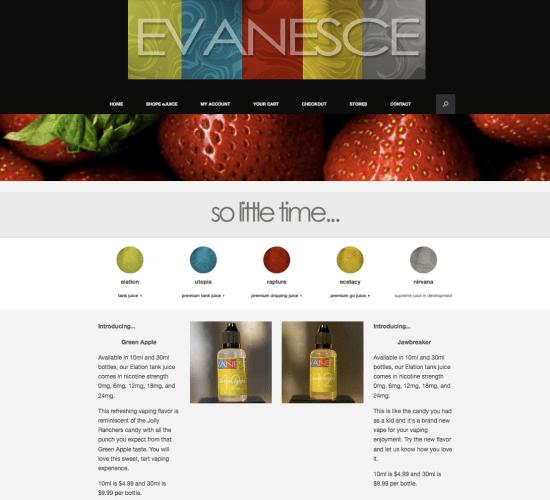 Evanesce E-Juice Company