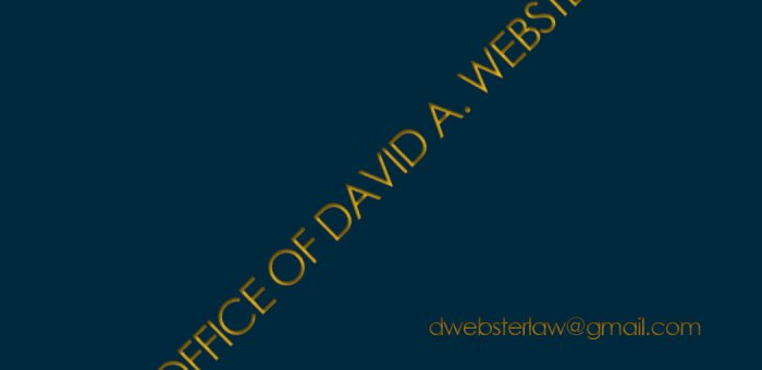 David A. Webster, Esq.