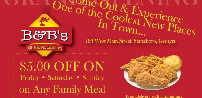B&B Chicken Flyer