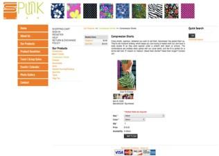 Spunkwear Site(2009)