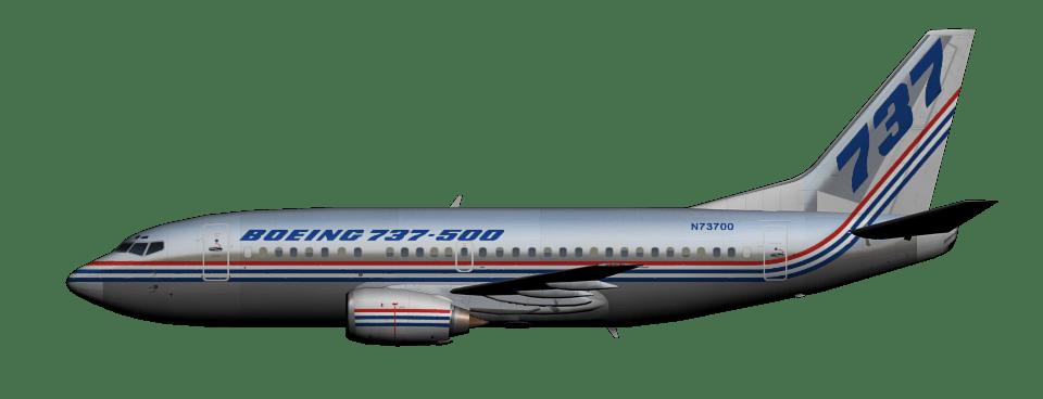 Resultado de imagen para Boeing 737-500 white